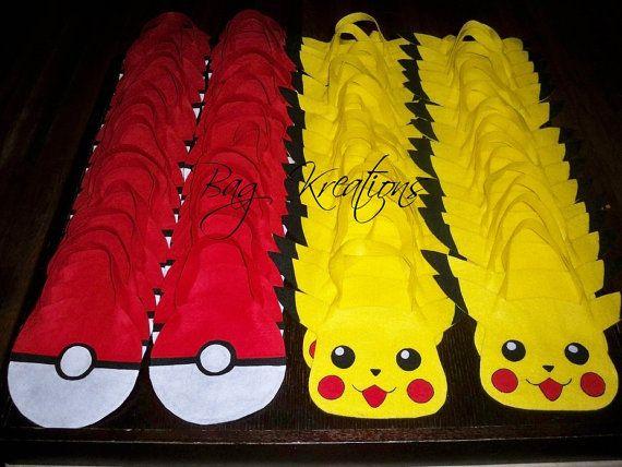felt pokemon goodie bags