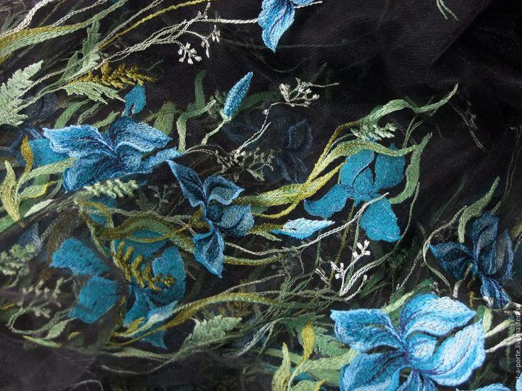 Купить D&G вышивка на сетке, Италия в интернет магазине на Ярмарке Мастеров