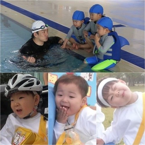 "Song Triplets Become Super Athletes for Triathlon on ""Superman Returns"""