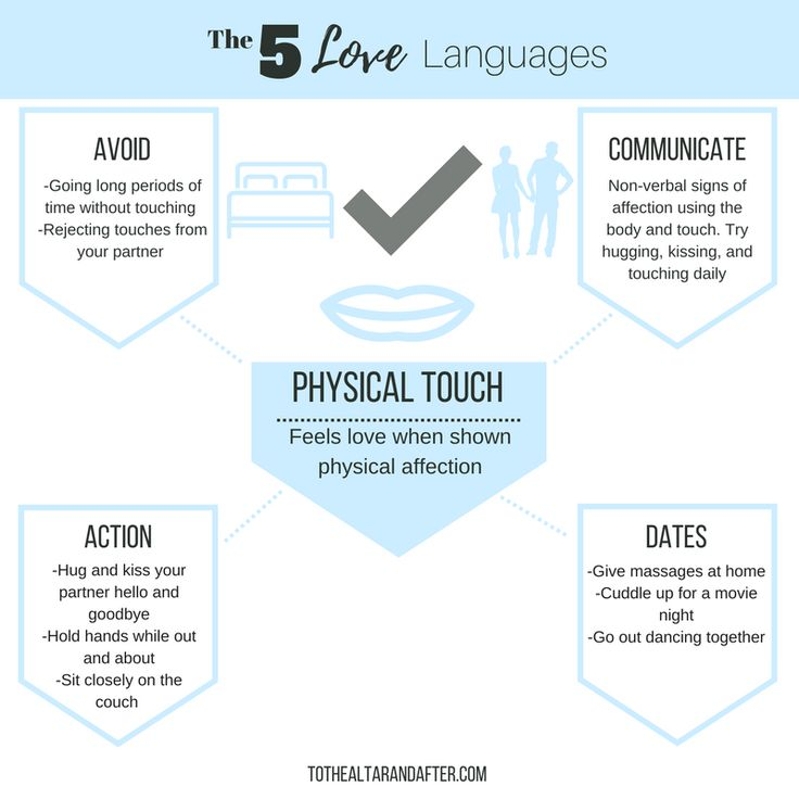 5 love languages physical touch for hookup couple