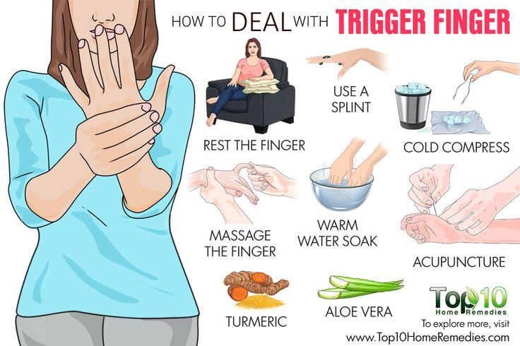how to deal with trigger finger