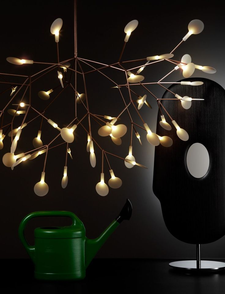 Heracleum and Mask Lamp