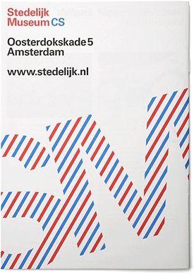Stedelijk Museum CS by Experimental Jetset