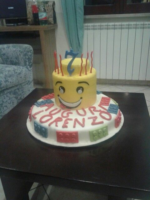 Compleanno lego di Lorenzo