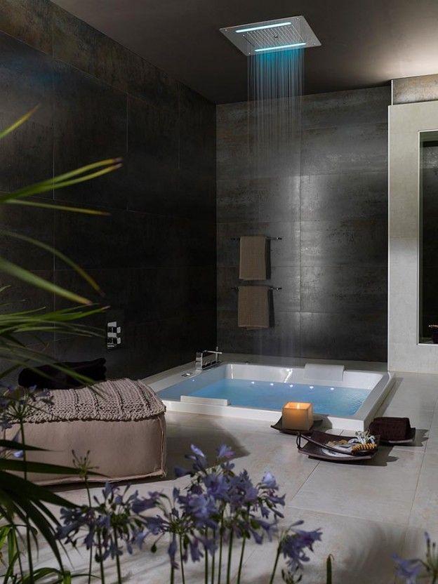 Crea un #spa en tu #baño. Experiencia #wellness con el equipamiento más avanzado #diseñodebaños #interiorismo #equipamientodebaños