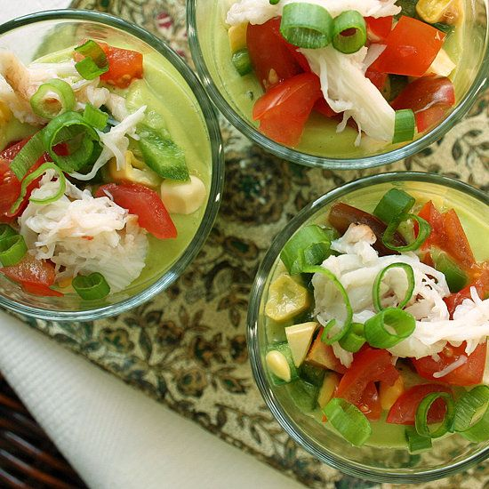 Chilled Summer Starters: Raw Avocado and Corn Soup: The heat wave has (sort of) made its way to San Francisco, and for the first time in longer than I can remember, I am craving fresh, raw produce.