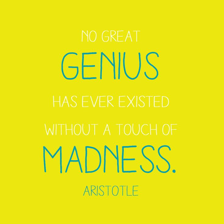 Food for thought: #inspiration #sophia #enjoythinking #motivation #genius #madness