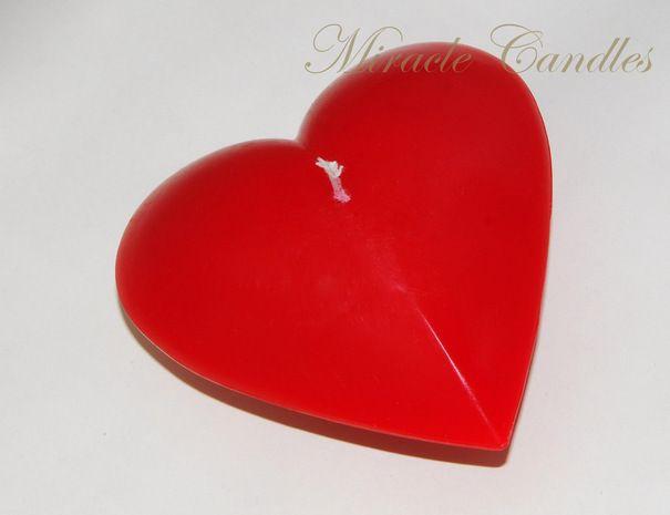 """Ручная одежда Свеча серии """"Burning Heart"""" - Red (""""Горящее сердце"""")"""