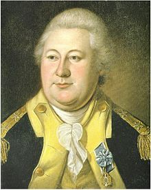 Henry Knox (July 25, 1750 – October 25, 1806) was a military officer of the Continental Army and later the United States Army, and also served as the first United States Secretary of War.