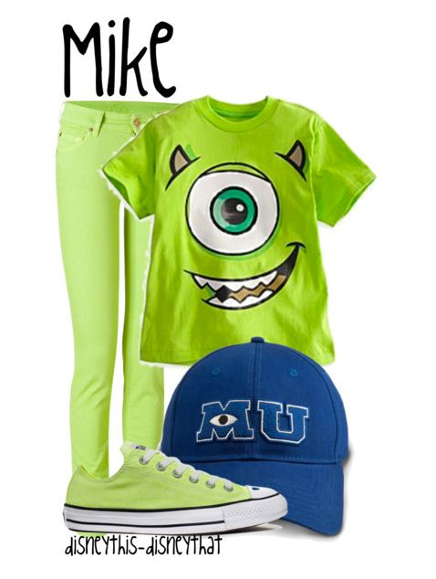 Mike Outfit this would be so cute for halloween! dibs!!