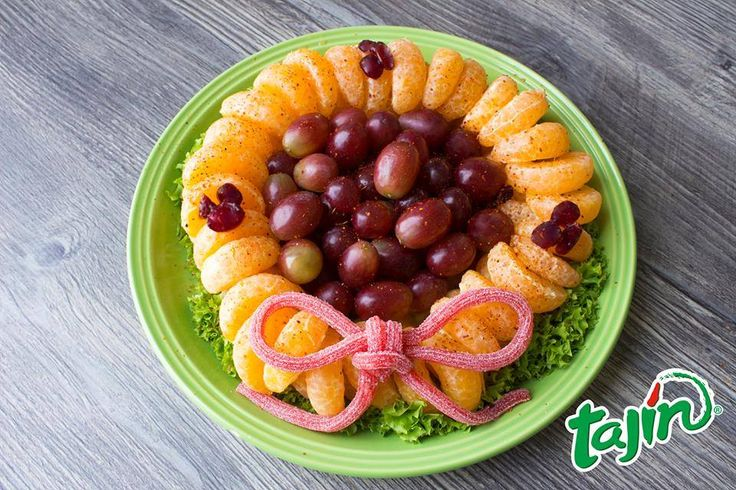 A delicious Christmas wreath