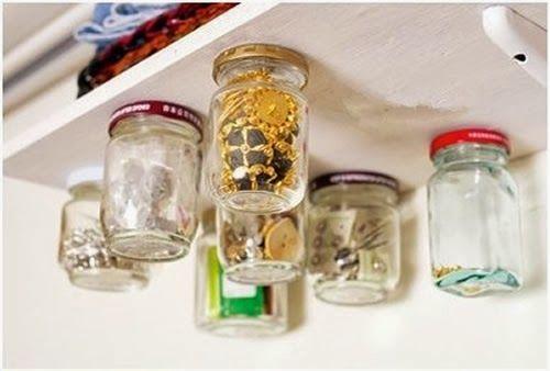 Porta trecos com vidros