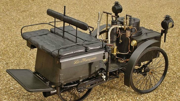 1884 -- Oldest known running car on the planet was built.