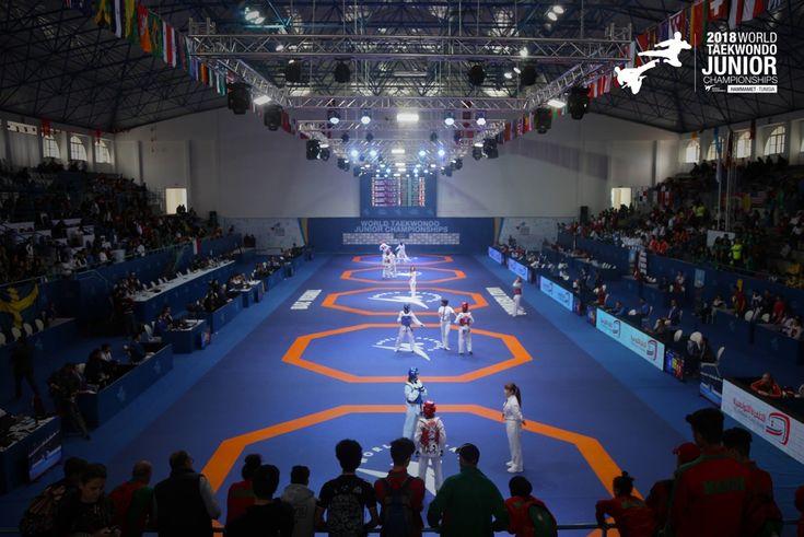2018 World Junior Taekwondo Championships: Οι νικητές της 4ης μέρας
