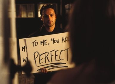 Love Actually. i love this movie. this scene is perfect.