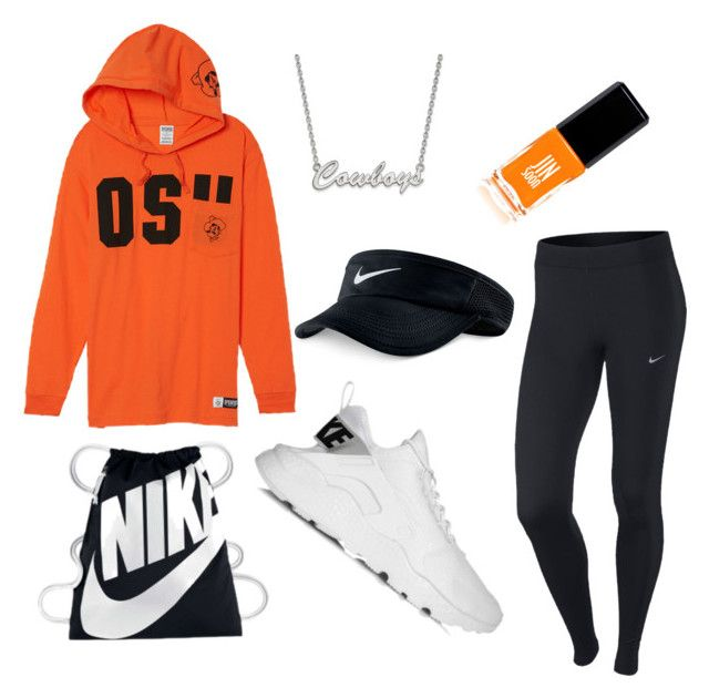 OSU game   (Go Pokes!) by darbi-easley on Polyvore featuring polyvore, fashion, style, NIKE, LogoArt, JINsoon and clothing