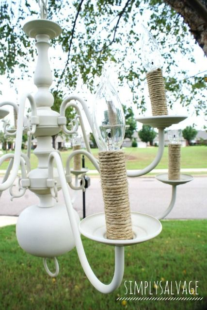 Best 25+ Spray painted chandelier ideas on Pinterest   Paint ...