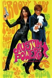 Austin Powers. Started laughing at the beginning and didn't stop until the end. On top of that, Liz Hurley has never looked more gorgeous (nearly said shagadelic!)