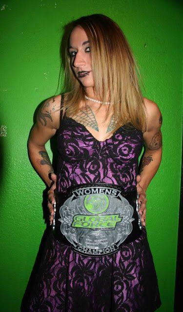 Womens Pro Wrestling: Christina Von Eerie - Women Pro Wrestling