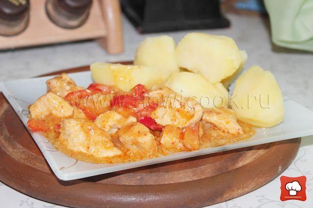 Пёркёльт из курицы (венгерская кухня)