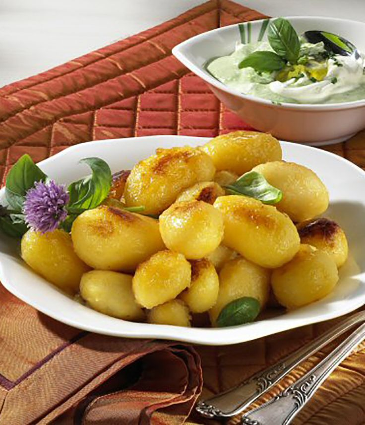 Ein schnelles Kartoffelgericht mit Dip