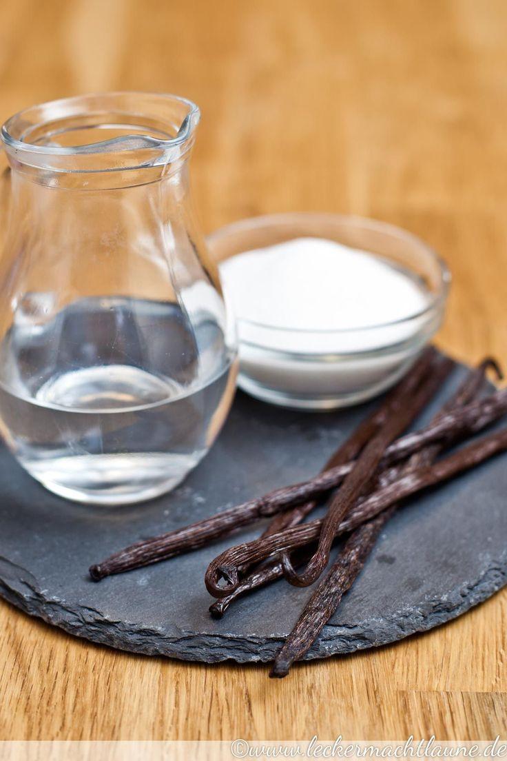 Für alle, die auch Grundzutaten gerne selbst herstellen: hausgemachte Vanillepaste.