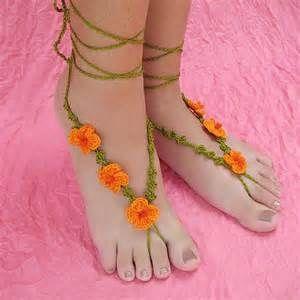 Barefoot Sandals Crochet Pattern Free - Bing Images
