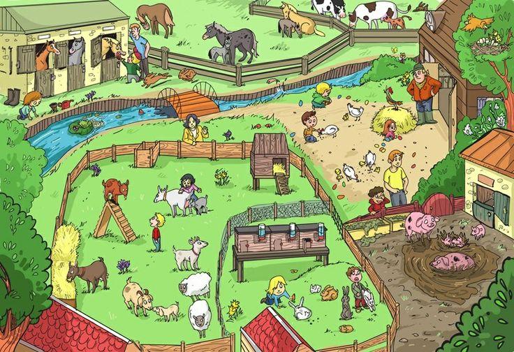 Praatplaat - boerderij