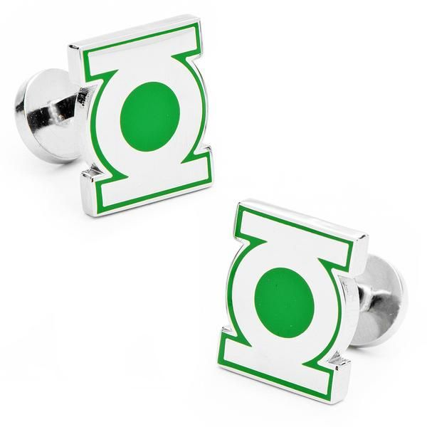 The D.C. Comics: Green Lantern Symbol Cuff-links are 100% officially licensed, and are the perfect accessory for any wardrobe. Whether you're a D.C. Comics Super fan or just looking to geek out, you'll love these cuff-links.