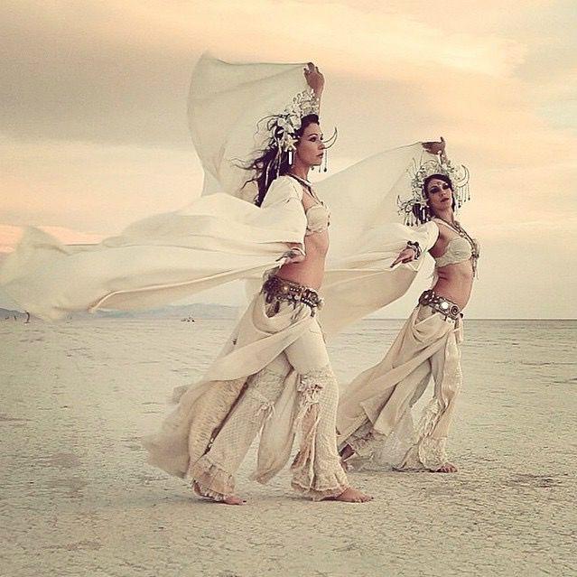 Auracle Dance Auracle Naga Sita & Aradia Sunseri Burning Man 2014