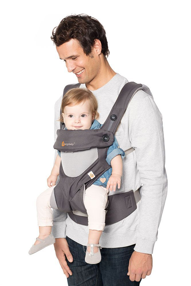 Ergo 360 cool air - definitely an amazing carrier for 3m+ in Australia, especially summer, but also great under jackets in winter. Front inward, front outward, and back carry - all easy and comfortable!