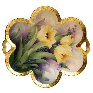 Yellow Tulip Tray Study - Paula Collins