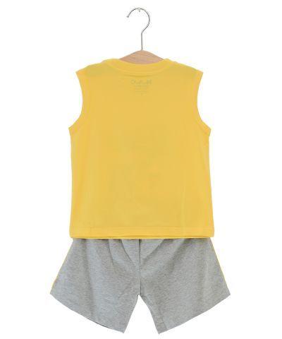 SB38001-2- Bộ quần áo thun bé trai Disney màu vàng dễ thương ( 3 màu - 7 size)