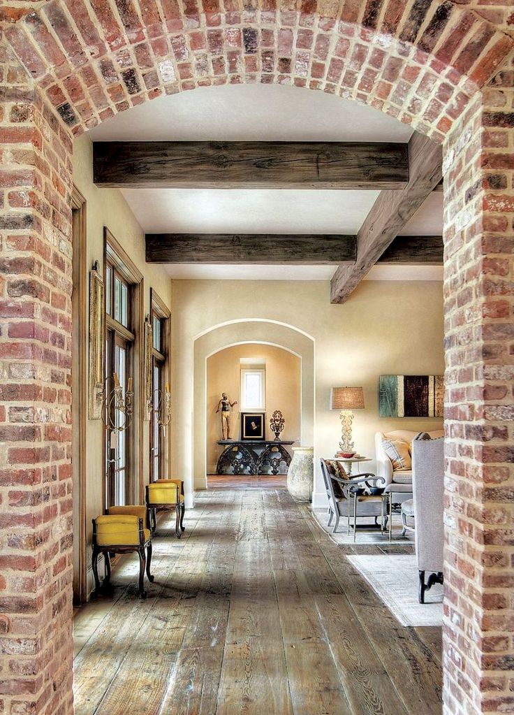 Gorgeous French Country Living Room Decor Ideas 36 Exposed Brick French Country House