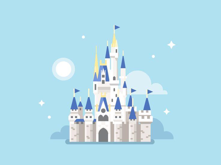 Disney World / Cinderella Castle by Dmitry Stolz for Wonderlust