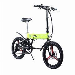 [ $50 OFF ] Bizobike Sport 20Inch City Electric Folding Bike With 10Ah Lithium Battery 36V 250W Bafang Hub Motor