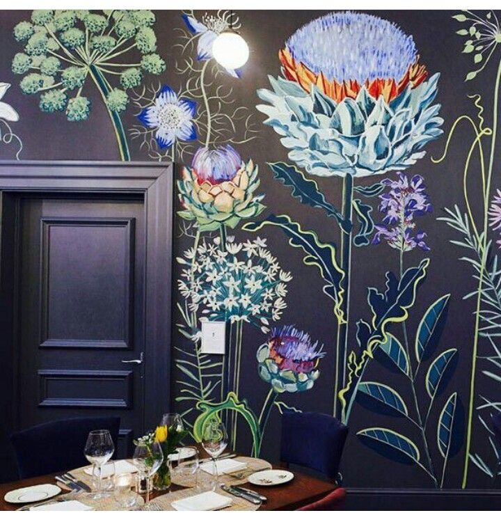 Best 25 flower mural ideas on pinterest murals painted for Mural flower