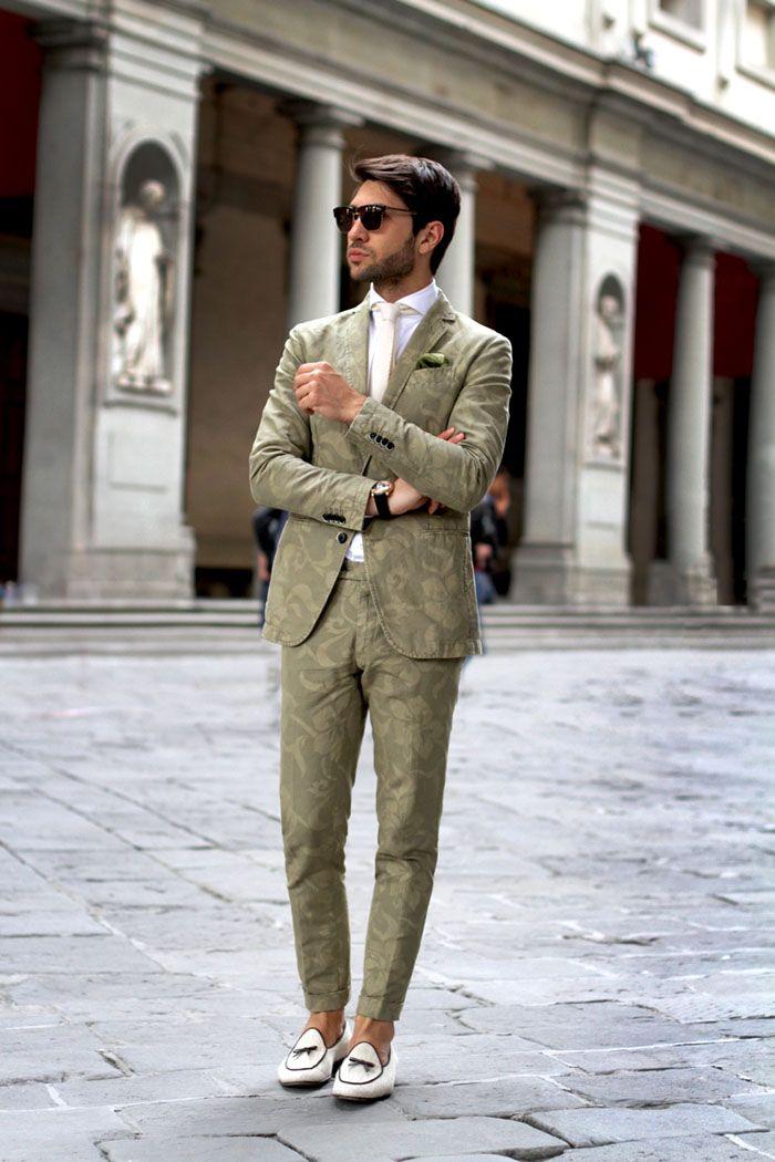 Luca Roda floral print suit