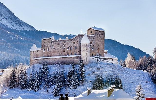 Schloss Nauders in Tyrol, Austria
