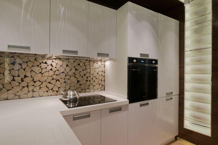 Переделка кухни-гостиной в деревянном доме: проект в поселке Поливаново - InMyRoom.ru