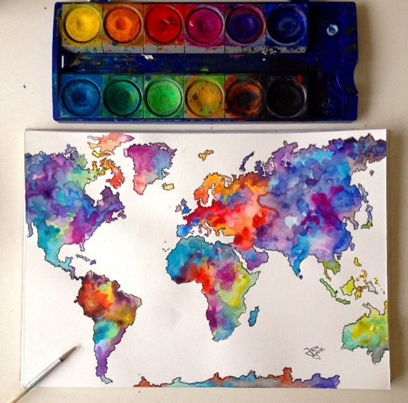 Fantastic Watercolor Pencils Works by German Artist Jana Grote http://nl.ink361.com/app/users/ig-462094860/jg_draws/photos