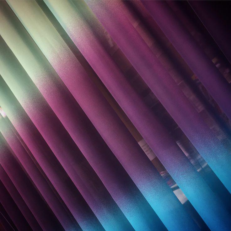 Ombre at Ontario Fabrics: Degradado de color en los 3 metros de alto! / Degradat de color en els 3 metres d'alçada! #degrade #visillo #voile #ontario #fabrics  Foto: Escaparate Visi Decoración, Barbastro.