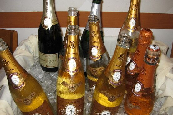 Tasting Cristal Champagne - On Wine - WSJ