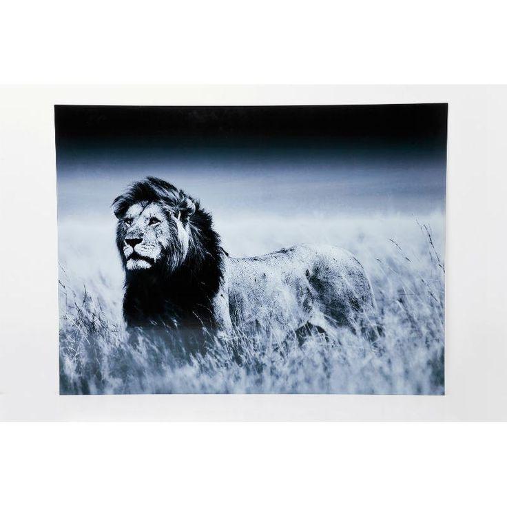 Πίνακας Glass Lion King Standing