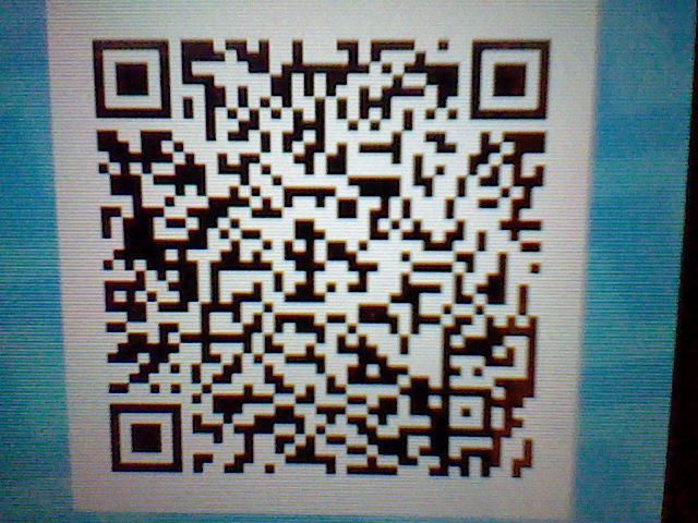 Shiny Riolu Qr Code
