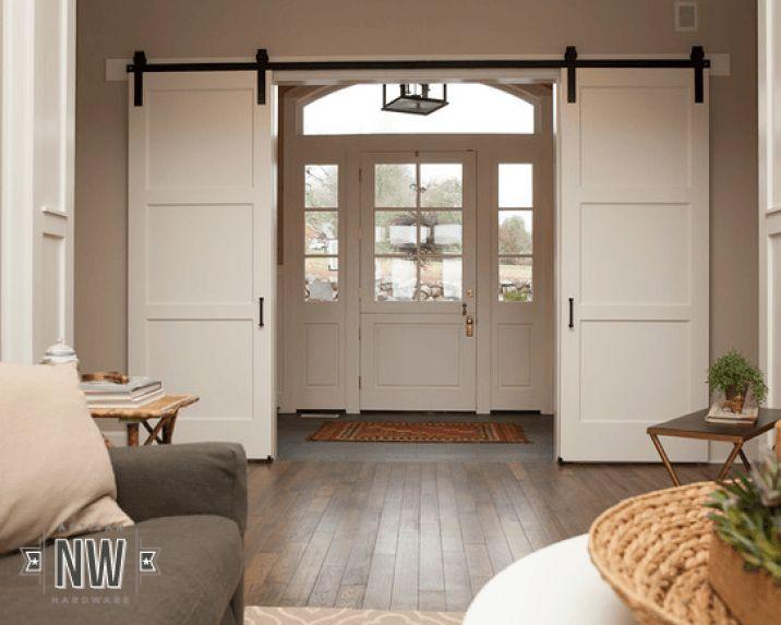 barn front door84 best BARN DOORS images on Pinterest  Sliding barn doors