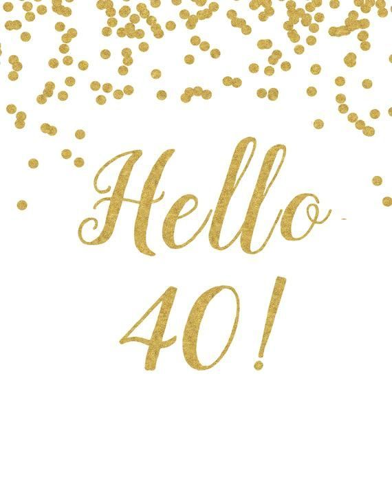 It is an image of Printable 40th Birthday Cards regarding funny 40th