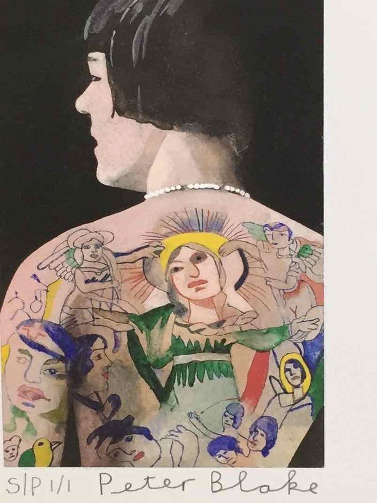 Peter Blake, Tattooed People