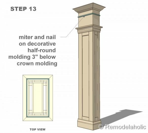 28 Best Images About Interior Columns Crown Moulding On
