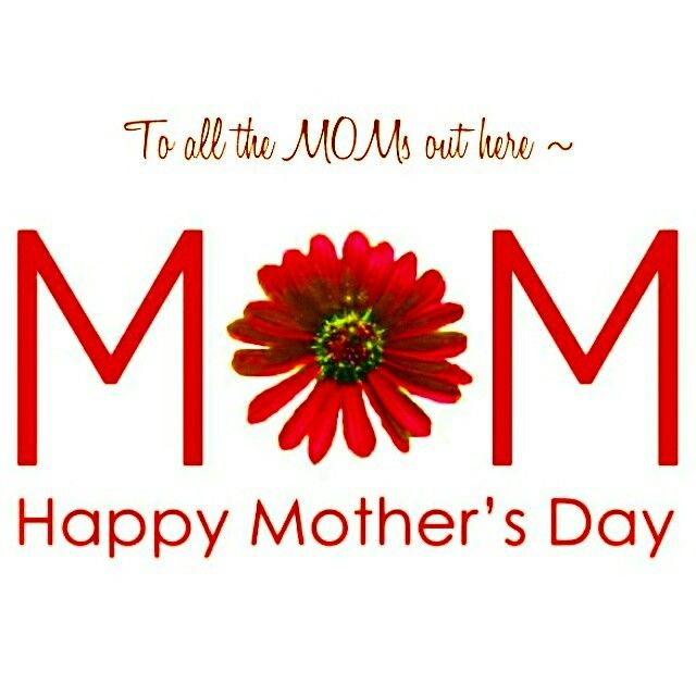 Happy Mother's Day ♥  #HappyMothersDay #MothersDay #Happy #Mothers #Mother #Day #Flower #Red